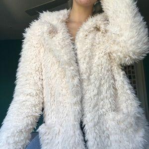 Pacsun faux fur coat